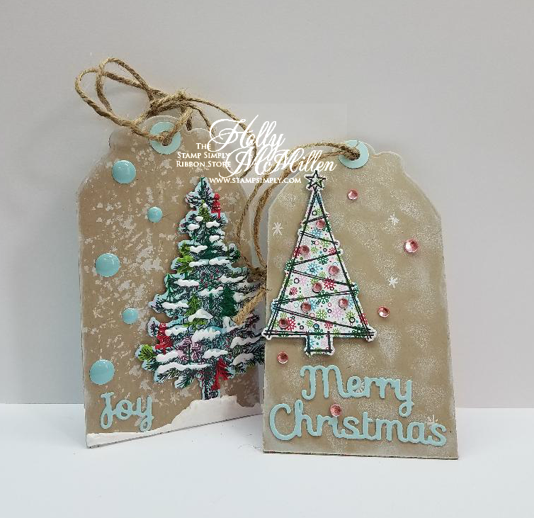 A Gift Tag Gift duo