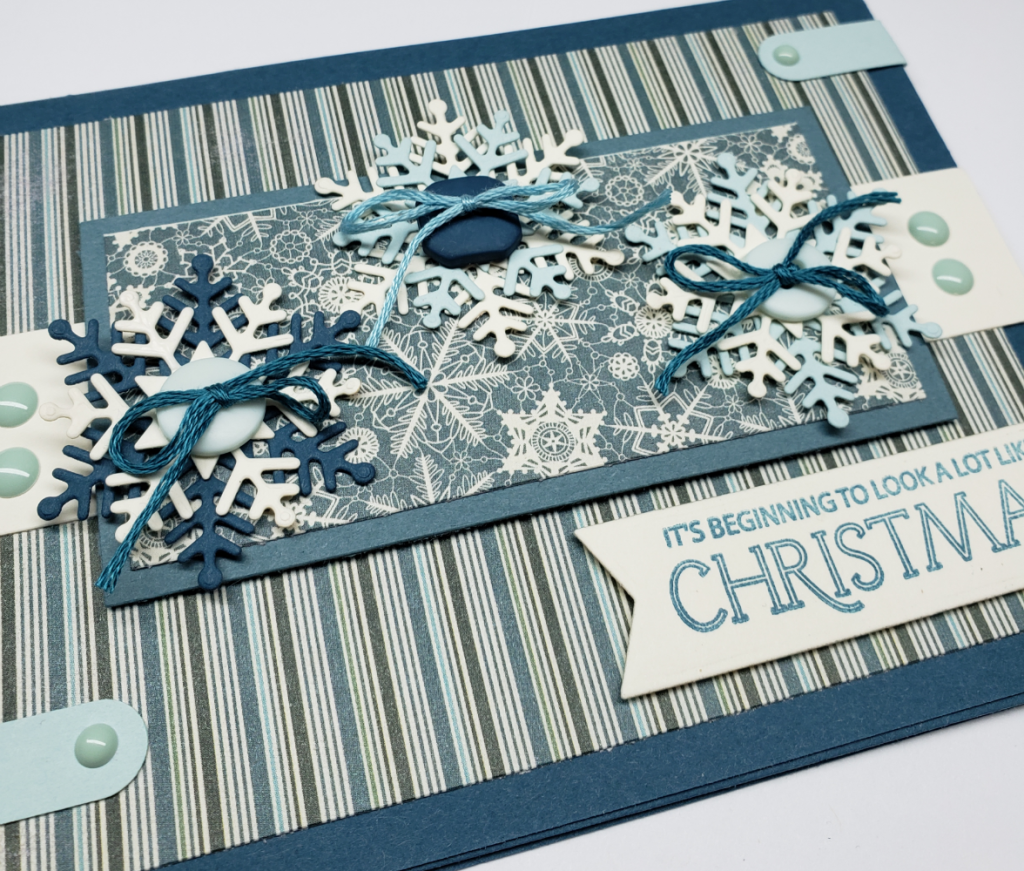 Blue Christmas closeup